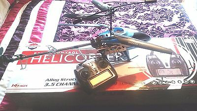 Rc Helicopter Large Scale With Transmitter - Rtf