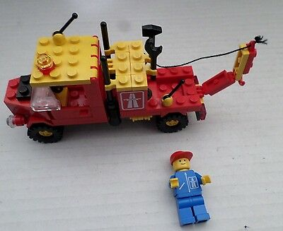 Lego 6674.tow Truck & Person; 1988  Unboxed