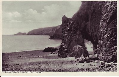Natural Arch, Dixcard Bay, SARK. Channel Islands. VGC