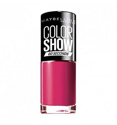 Maybelline Colorshow 60 Seconds Nail Lacquer 014 Show Time Pink