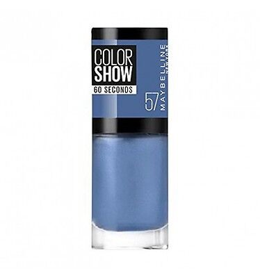 Maybelline Colorshow 60 Seconds Nail Lacquer 057 Old Denim