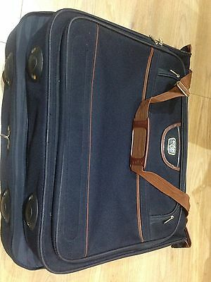 Antler suit carrier - Blue Suit Carrier - Luggage