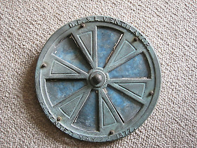 Antique D F & L Ventilator Grate, Dated Pat. May22, 1877.