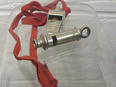 Antique  whistle The Acme Thunderer 7 The Metropolitan both perfect working