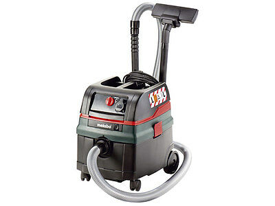 Extractor Unit & Wet And Dry Vac Metabo ASR 25L SC Vacuum - 602024380 240v