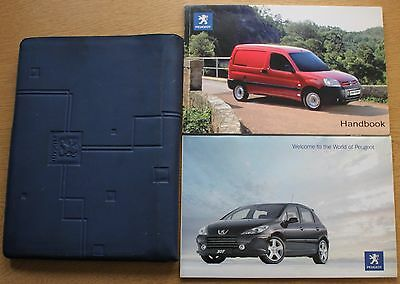 Peugeot Partner Owners Manual Handbook Wallet 2003-2009 Pack 11746