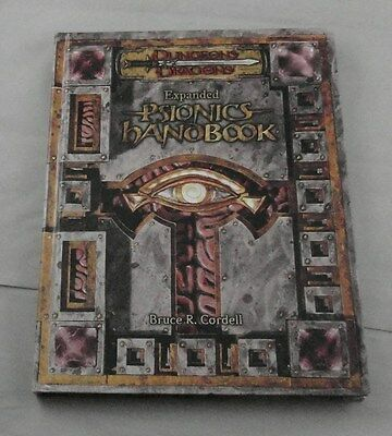 Dungeons and Dragons d20 v3.5 Expanded Psionics Handbook D&D (WTC96666)