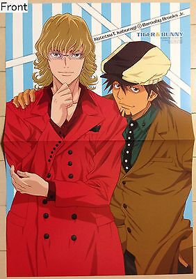 Tiger & Bunny  2-sided folded poster