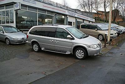 2006 06 Chrysler Grand Voyager 2.8 Crd Limited Xs Auto Diesel Stow N Go Silver