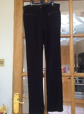 """GIRLS BLACK TROUSERS. by """" M&S"""" age 11-12 years"""