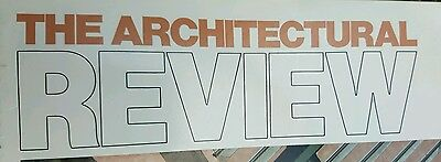 The Architectural Review - 66 Monthly Magazines (Please see description!)
