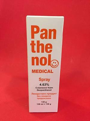 Pantenol Spray / 130 ml. / Additional treatment for superficial skin injuries