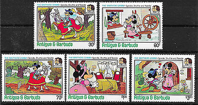 pb405 ANTIGUA+BARBUDA/ Comics  MiNr 905/09 **