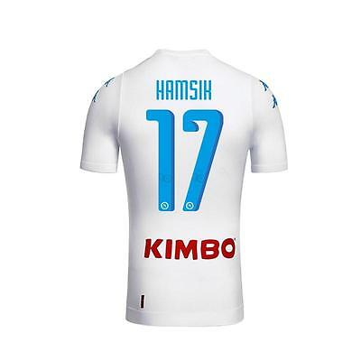 NAPOLI hamsik Soccer away Jersey for US size M