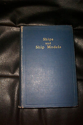 RARE 1933 34 SHIPS & SHIPS MODELS  ANNUAL BOUND VOLUME 3  PICTURES & PLANS Etc