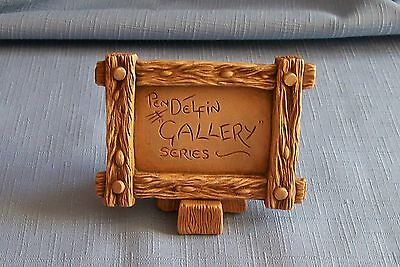 Pendelfin RARE GALLERY DISPLAY SIGN WITH WEDGE Made in England