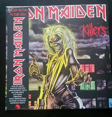 Iron Maiden 'Killers' limited edition picture disk vinyl (New!)