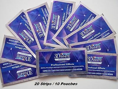 Crest3D-Professional Effects Whitestrips 20strips/10pouches