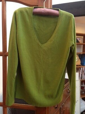size 12 green jumper by Next