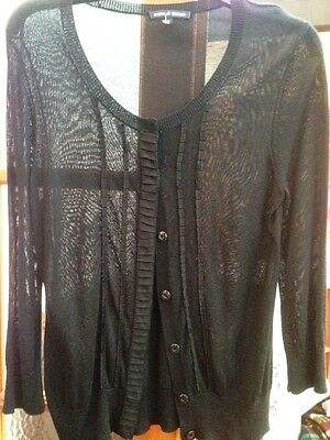 Size L 14/16 cardigan by Cable and Gauge