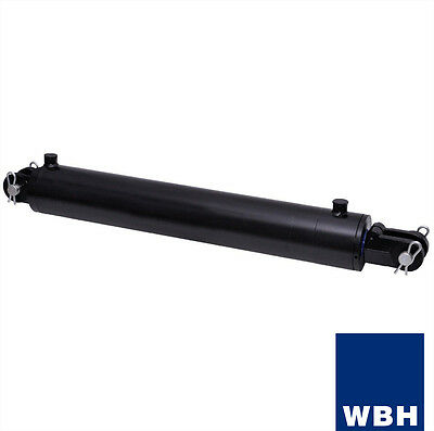 """4"""" Bore 30"""" Stroke Clevis End WBH Hydraulic Cylinder Welded Double Acting"""