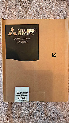 Mitsubishi FR-D720S Inverter Drive 0.2 kW (post to united kingdom only)