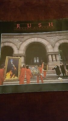 Rush tour programme Moving Pictures UK orig 1981 exc cond.
