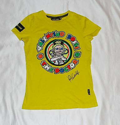 Valentino Rossi Signed VR 46 MotoGP T-Shirt with COA