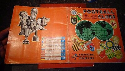 "Ancien Album d'Images FOOTBALL CLUBS PANINI 1975 ""COMPLET"""