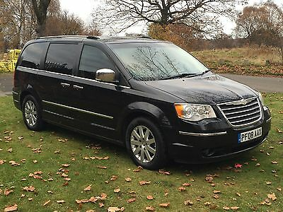 2008 08 Chrysler Grand Voyager 2.8 LIMITED DIESEL AUTOMATIC FSH-FULLY LOADED+++