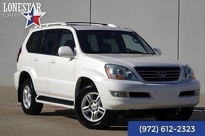 2004 Lexus GX Base Sport Utility 4-Door 2004 White!