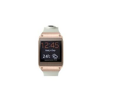 Samsung Galaxy Gear in Weiß-Gold Smartwatch Dummy Attrappe (ohne Funktionen)