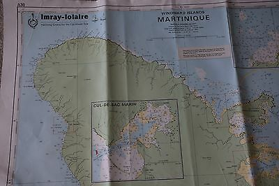 Chart Of Windward Island - Martinique