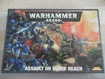 Warhammer 40k Assault on Black Reach Box Set with Extras