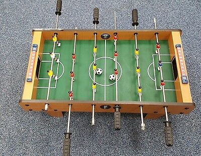 Mini Table Top Football Game, Excellent Condition