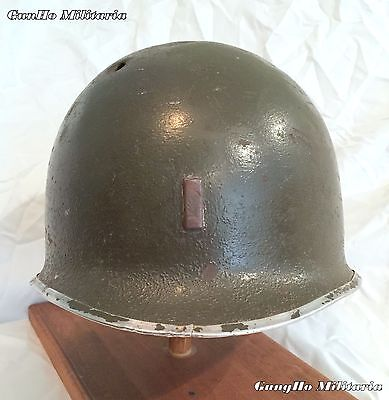 WWII M1 Helmet, McCord Mfg 1944, NAMED, 25th Division.