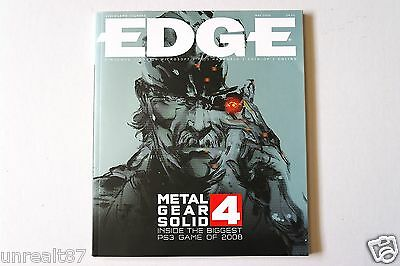 Edge Magazine - May 2008 - Issue # 188 - Metal Gear Solid 4 - Mario Kart Wii