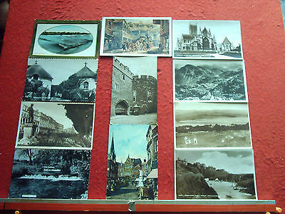 Approx 450 Old Postcards UK Topo