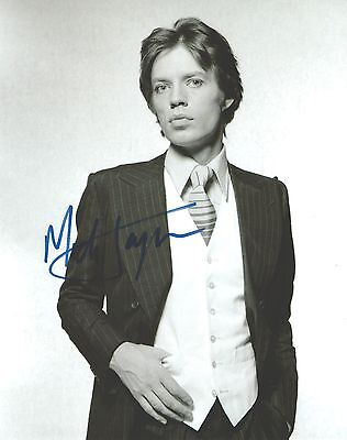 Genuine Personally Hand Signed 10x8 Photo of Mick Jagger (COA Incl)