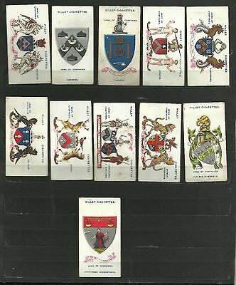 Cigarette cards Arms of Companies 11 of 50 WD Wills