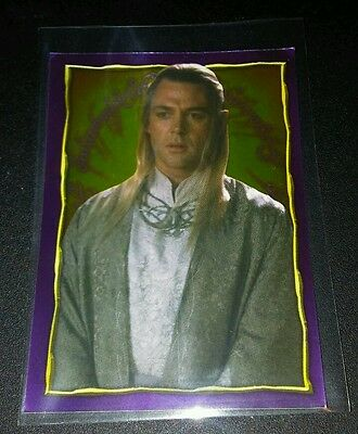 Elb #204 Herr der Ringe 2001 Holo Glitzer Sticker Lord of the Rings