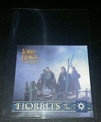 Hobbits #13 Herr der Ringe 2002 Sticker Lord of the Rings