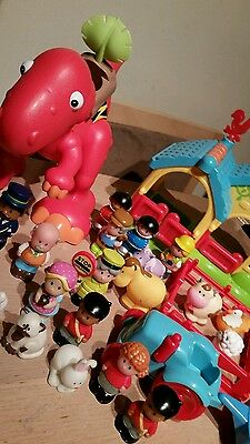 Elc Happyland Farm With Sounds Plus Animals Tractor And Lots Of Extras