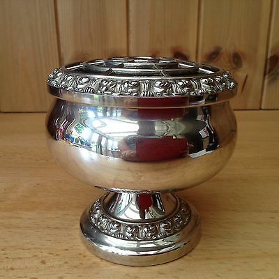 Silver Plated Ianthe Posy Bowl