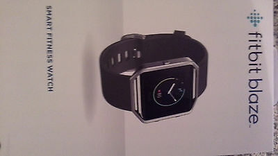 Fitbit Blaze Smart Fitness Watch Activity Tracker - Large - Brand New Sealed