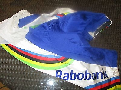 cuissard cyclisme  mythique rabobank / taille M / agu vintage collector