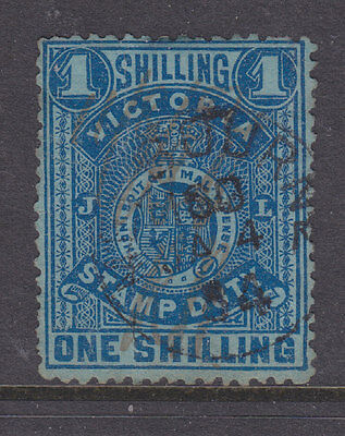 Victoria 1884 Sg 256a perf 12 fiscal used
