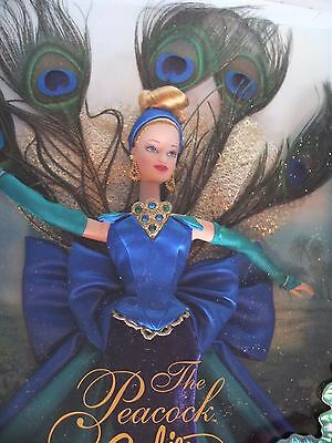 1998-The Peacock Barbie Doll,  Birds Of Beauty Collection