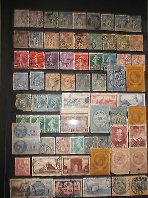 Timbres France Lot