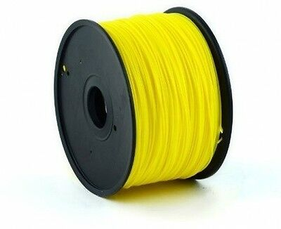 MakiBox 1kg Yellow ABS Filament 1.75mm For MakiBox, Makerbot, Up And Other 3D
